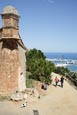 Thumbnail image of view from Castell de Montjuic over the ports, Barcelona, Catalonia, Spain