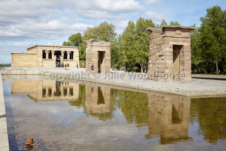 photo showing Temple Of Debod, Madrid, Spain