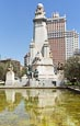 Thumbnail image of Plaza de Espana – Spanish Square with the Cervantes Monument including Sculptures of Don Quixote and