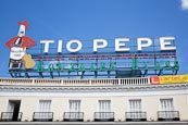 Thumbnail image of Tio Pepe sign in Sol Square, Puerta del Sol, Madrid, Spain