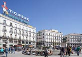 Sol Square, Puerta Del Sol, Madrid, Spain