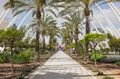 Thumbnail image of The City of Arts and Sciences, Umbracle, Valencia, Spain