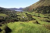 View Towards Llyn Gwynant, Snowdonia, Wales
