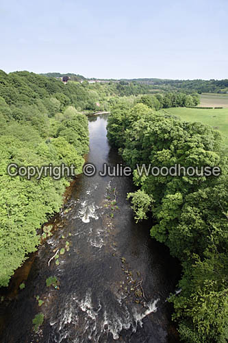 photo showing View From Pontcysyllte Aqueduct, Wales