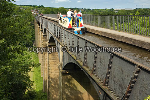 photo showing Pontcysyllte Aqueduct  Wales