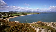 Thumbnail image of view from Tir-y-Cwmwd towards Llanbedrog  and Pwllheli, Lleyn Peninsula, Wales